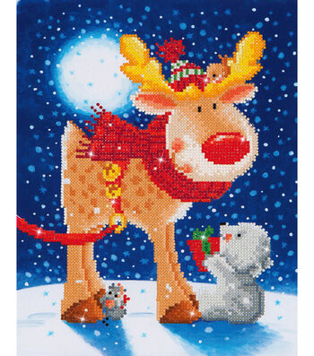 Diamond Dotz Diamond Embroidery Facet Art Kit-Reindeer Gift