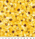 Keepsake Calico Cotton Fabric-Poppy Toss Yellow