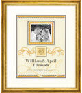 Dimensions Wedding Record Counted Cross Stitch-Elegant Flourish