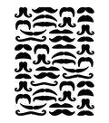 Darice Mustaches Embossing Folder
