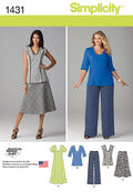 Simplicity Pattern 1431AA 10-12-14-1-Misses Sportswear