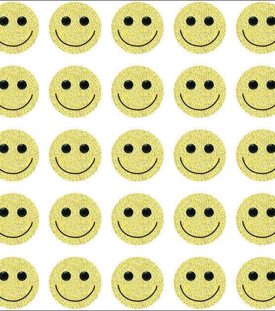 JOLEE/'S BOUTIQUE 3D STICKERS SMILING FACE REPEATS