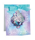 Sizzix Impresslits Lindsey Serata Embossing Folder & Dies-Made with Love