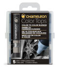 Chameleon 5 pk Color Tops Set-Gray Tones