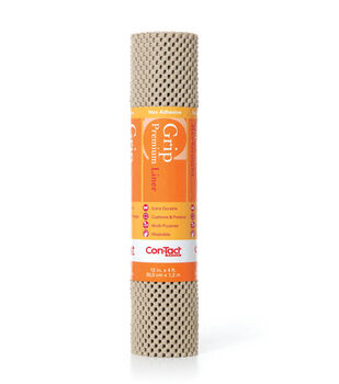 12in x 4ft Contact Grip Liner Premium-Taupe