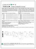 Mccall Pattern V8916 14-16-18-2-Vogue Pattern