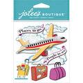Jolee\u0027s Boutique Dimensional Stickers-Airplane