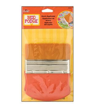 "Mod Podge Brush Applicator 4""-Gold Taklon"