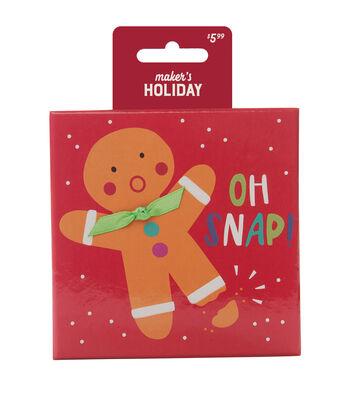 Maker's Holiday Box-Oh Snap Gingerbread Man