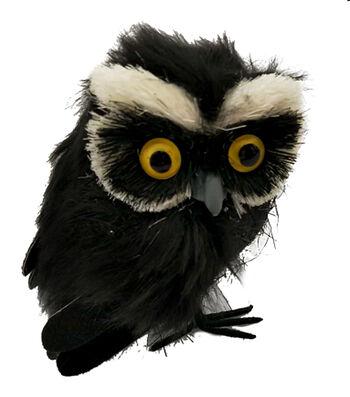 Maker's Halloween Small Critter Owl-Black