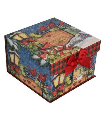 Maker's Holiday Large Mini Fliptop Storage Box-Beautiful Blessings