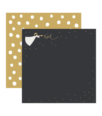 "First Noel Double-Sided Specialty Cardstock 12""X12""-Noel"
