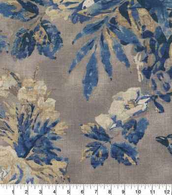 Waverly Multi-Purpose Decor Fabric 54''-Indigo Cast a Spell
