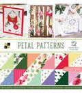 DCWV 36 Pack 12\u0027\u0027x12\u0027\u0027 Premium Stack Printed Cardstock-Petal Patterns
