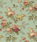 Home Decor 8\u0022x8\u0022 Fabric Swatch-Waverly Emma\u0027s Garden /Mist