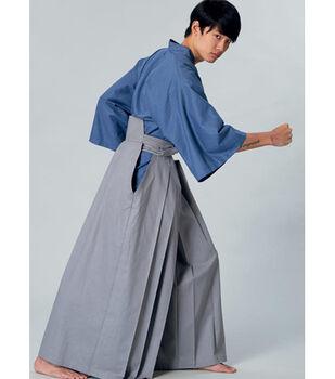 45d772f52bf McCall s Pattern M7525 Kimono   Pleated Pants-Size S-M-L-XL-XXL
