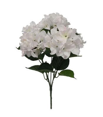 Fresh Picked Spring 19'' Hydrangea Bush-White