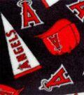 Los Angeles Angels Fleece Fabric 58\u0022-Tossed