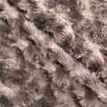 Faux Fur Fabric -Swirl Design
