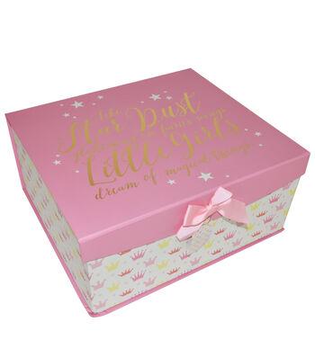 Organizing Essentials Large Fliptop Box-Fairy Tale