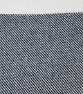 Sportswear Acrylic Fabric 52\u0022-Black & Cream Buffalo Check