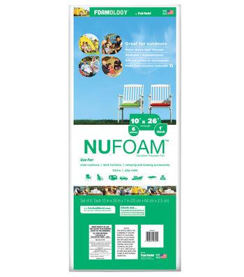"""NuFoam Pad - 10"""" x 26"""" - 6pc"""