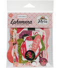 Carta Bella Ephemera Cardstock Die Cut Frames & Tags-Flora No. 1
