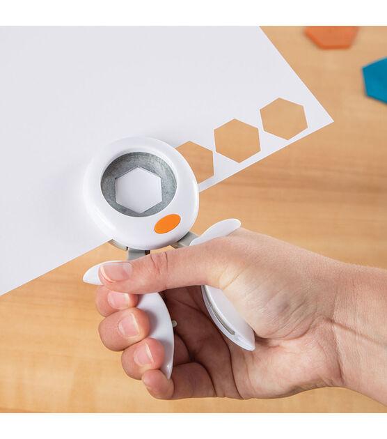"""1/"""" Fiskars Squeeze Punch Medium-Hexagon"""