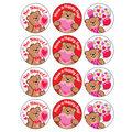 Friendship Bears-Chocolate Cherry Stinky Stickers 48 Per Pack, 6 Packs