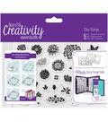 Docrafts Creativity Essentials A6 Clear Stamp Set-Trad Floral