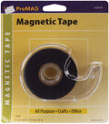 Magnum Magnetics Adhesive Tape Magnetic Strip W/Dispenser-.75\u0022x26\u0027