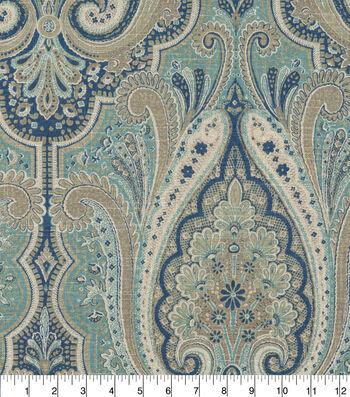 """Waverly Upholstery Fabric 13x13"""" Swatch-Set the Mood Indigo"""