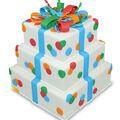 FloraCraft SmoothFoam 8\u0027\u0027 Styrofoam Rectangle Cake Form-White