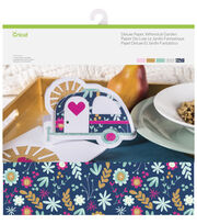 Cricut 10 Pack 12''x12'' Deluxe Papers-Whimsical Garden, , hi-res