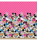 Disney Minnie Mouse Minnie And Friends Mock Smock Fabric