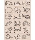 Hero Arts Ink \u0027n Stamp Tub-Happy Animals