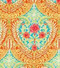 Dena Home Multi-Purpose Decor Fabric 54\u0022-Mural Floral/Sundance