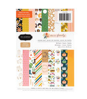 "American Crafts Jen Hadfield 6""x6"" Paper Pad-Family, , hi-res"