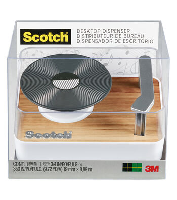 Scotch Tape Dispenser-Record Player