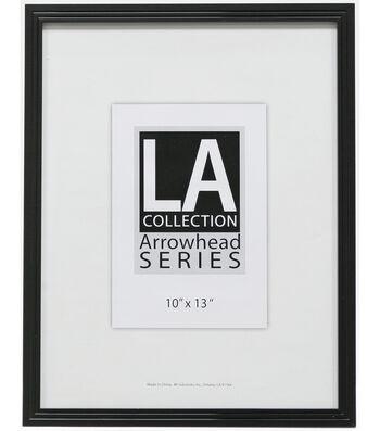 LA Collection Plastic Wall Frame 10X13-Black