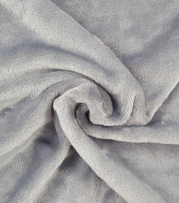 "Sew Lush Fleece Fabric 57""-Gray"