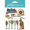 Jolee\u0027s Boutique Dimensional Stickers Archery