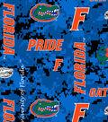 University of Florida Gators Fleece Fabric -Digital Camo