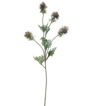 "Bloom Room 24"" Mountain Straw Spray-Purple"