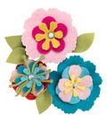 Sizzix Thinlits Eileen Hull Die-Stitchy Flowers & Leaf