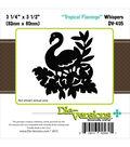 Die-Versions Whispers Die-Tropical Flamingo