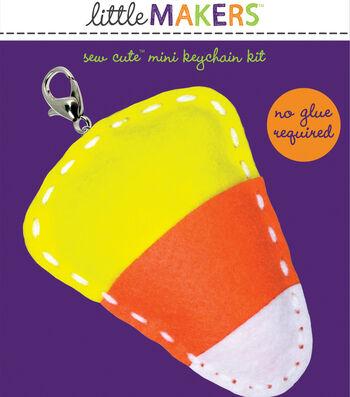 Little Makers Sew Cute Mini Keychain Kit-Candy Corn