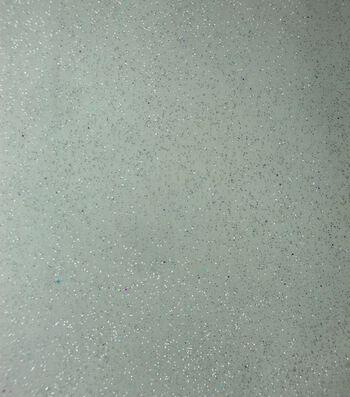 Glitterbug Organza Fabric -White Glitter