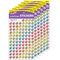 Perky Pencils superShapes Stickers 800 Per Pack, 12 Packs