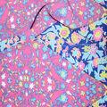 Fast Fashion Bubble Crepe Knit Fabric-Bright Diamond Patch
